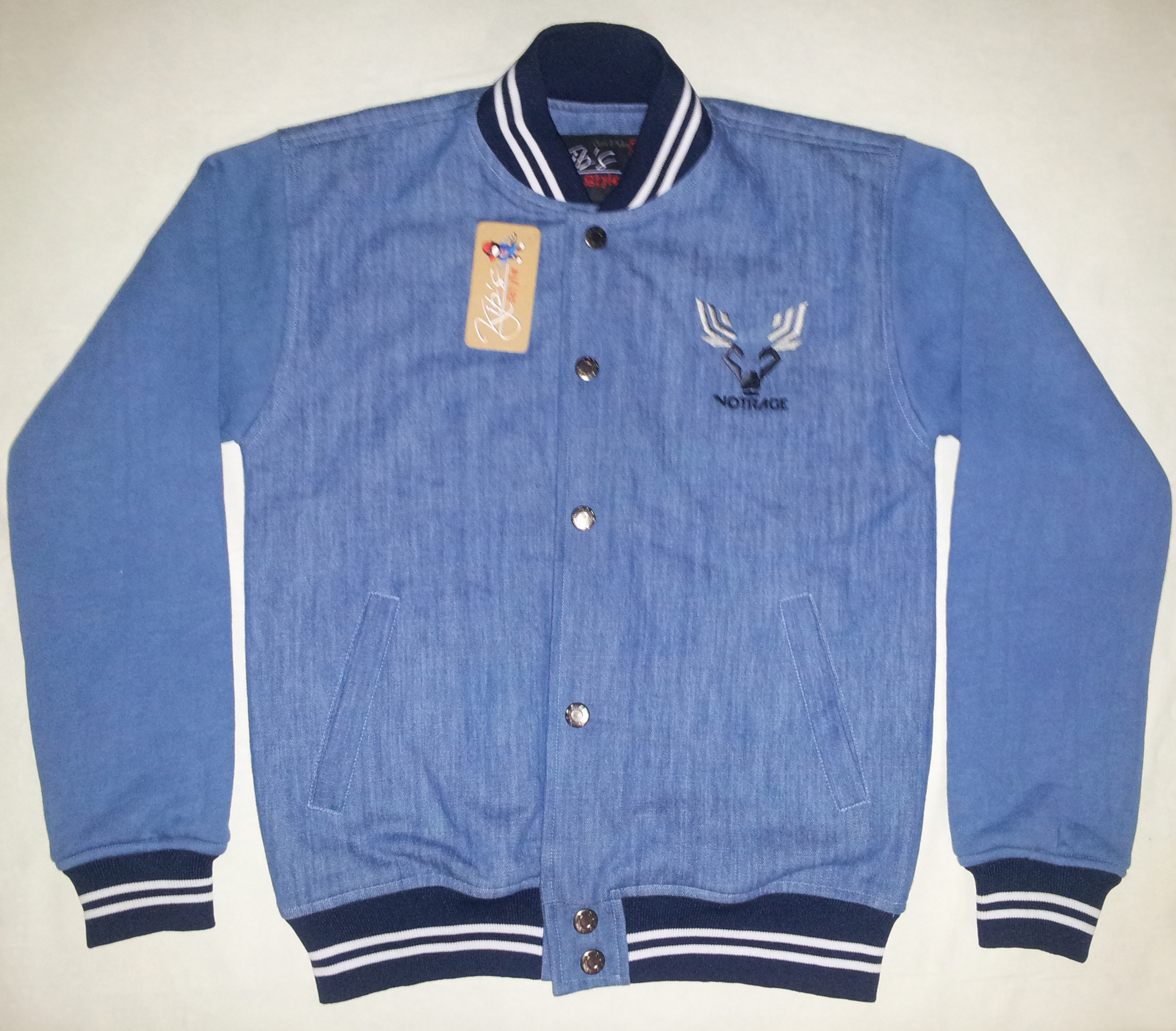 Jaket Denim College DF