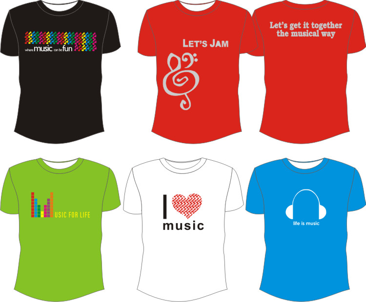 T-Shirt Cotton Combad Music