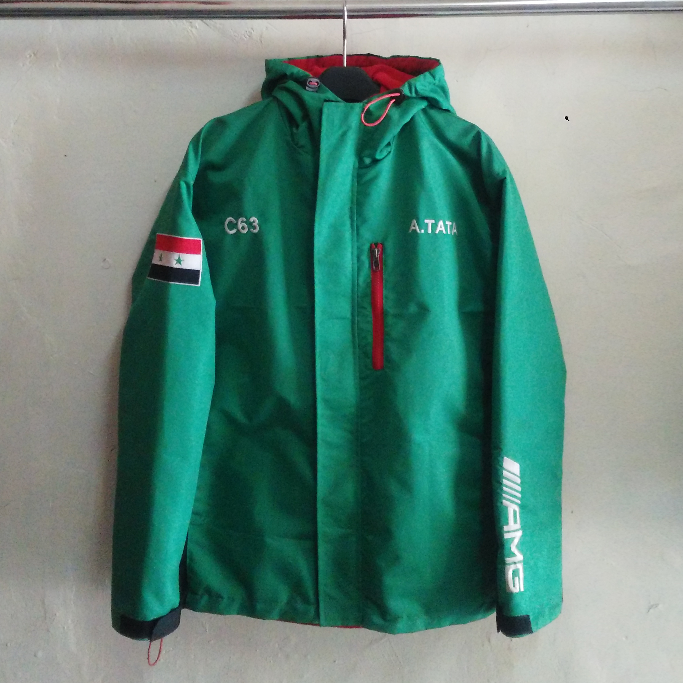 Jaket Outdoor Taslan Waterproof AMG