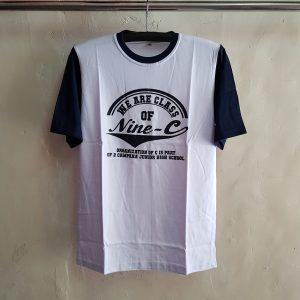 Kaos Oblong Aplikasi, T-Shirt Campaka