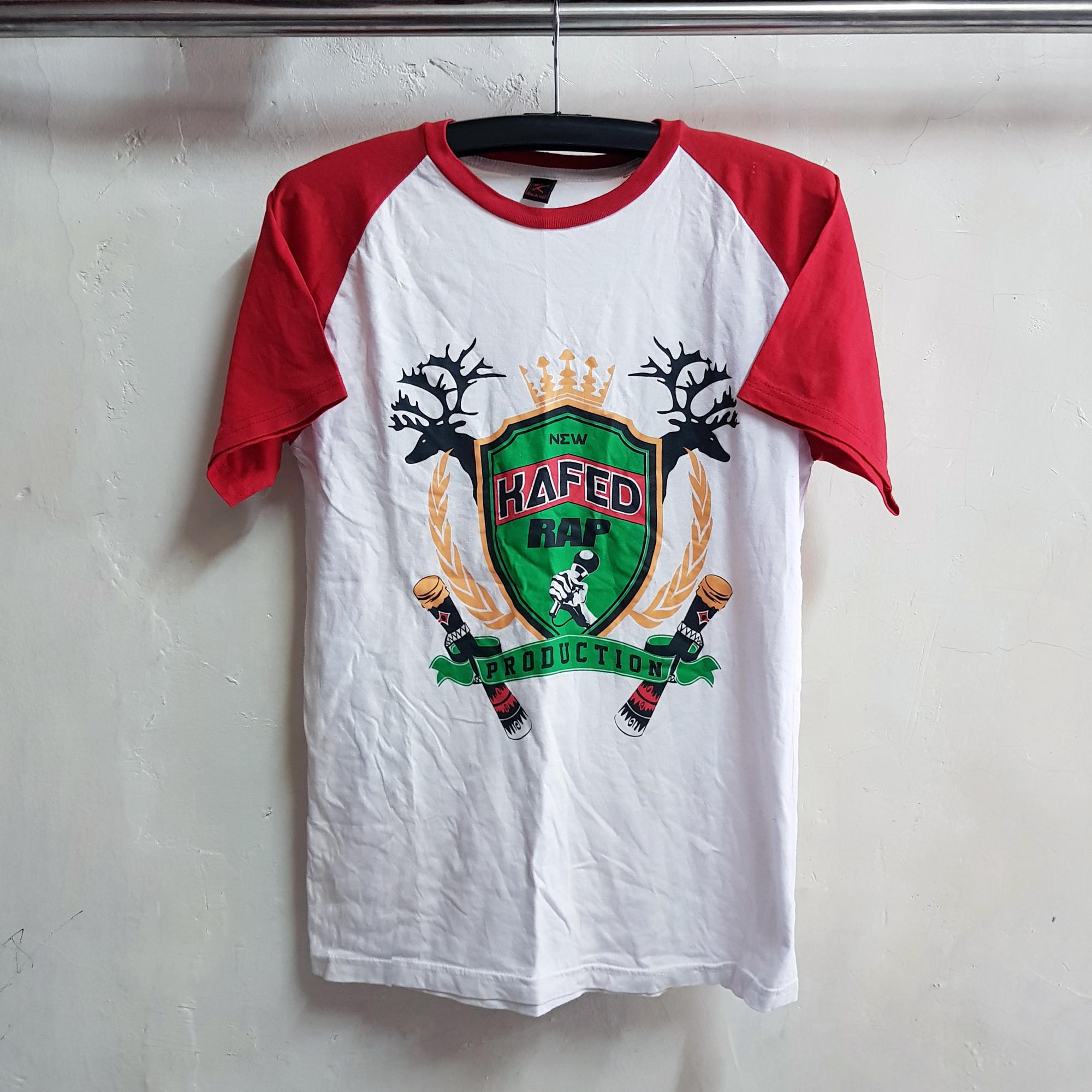 T-Shirt Raglan Lengan Pendek, Kafed