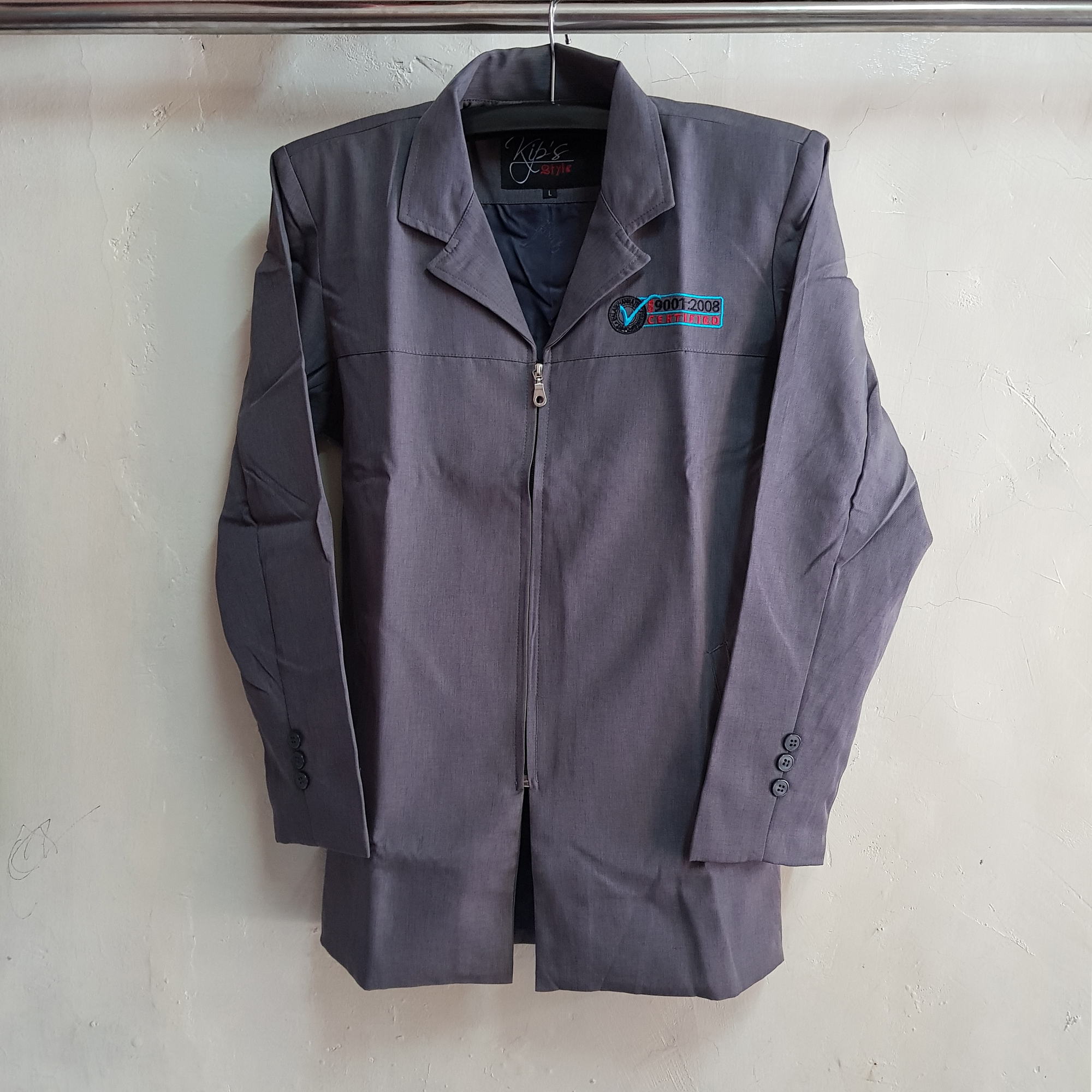 Jaket Wool Semi Formal PPNP, Seragam Jaket