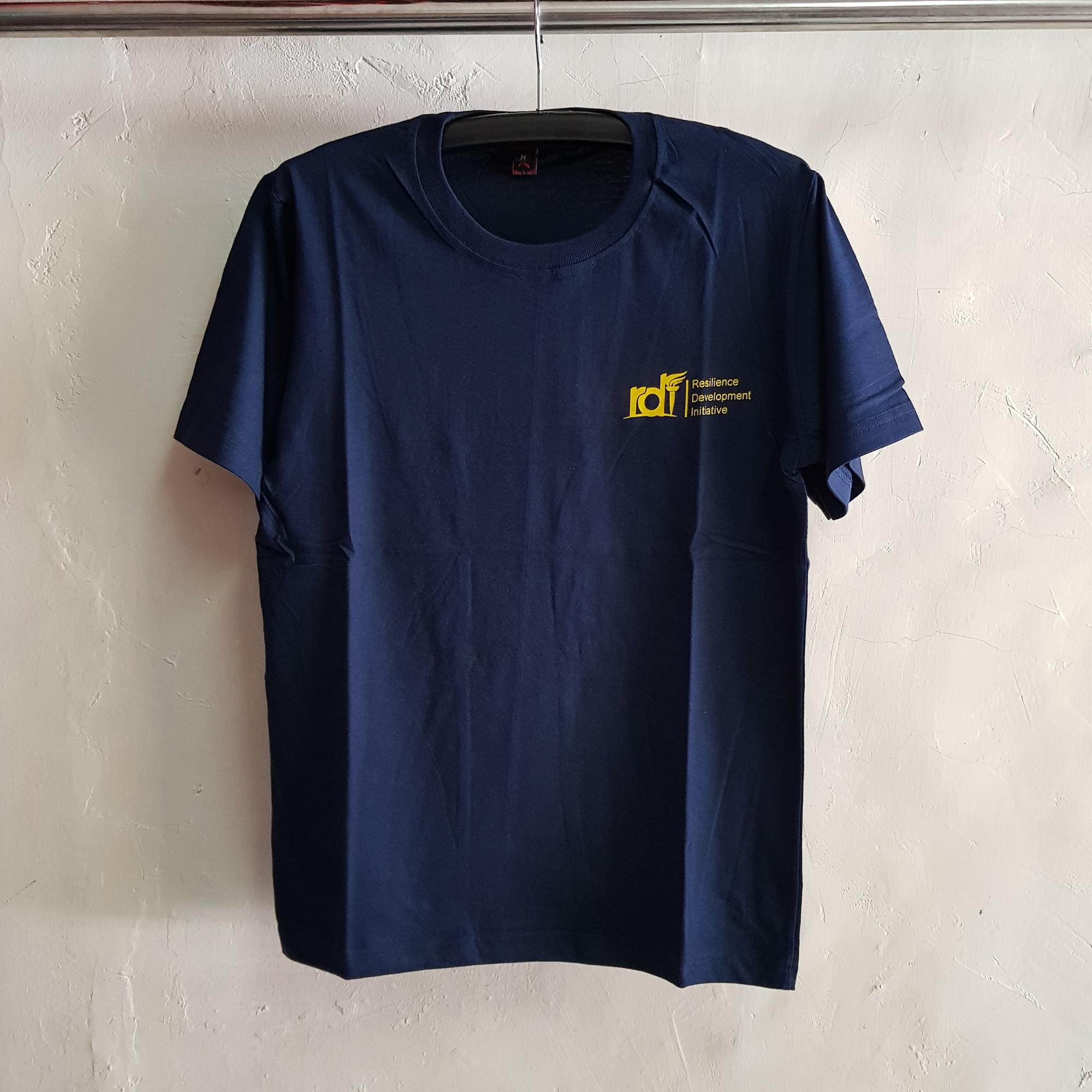 Seragam Kaos RDI, T-Shirt Oblong Navy