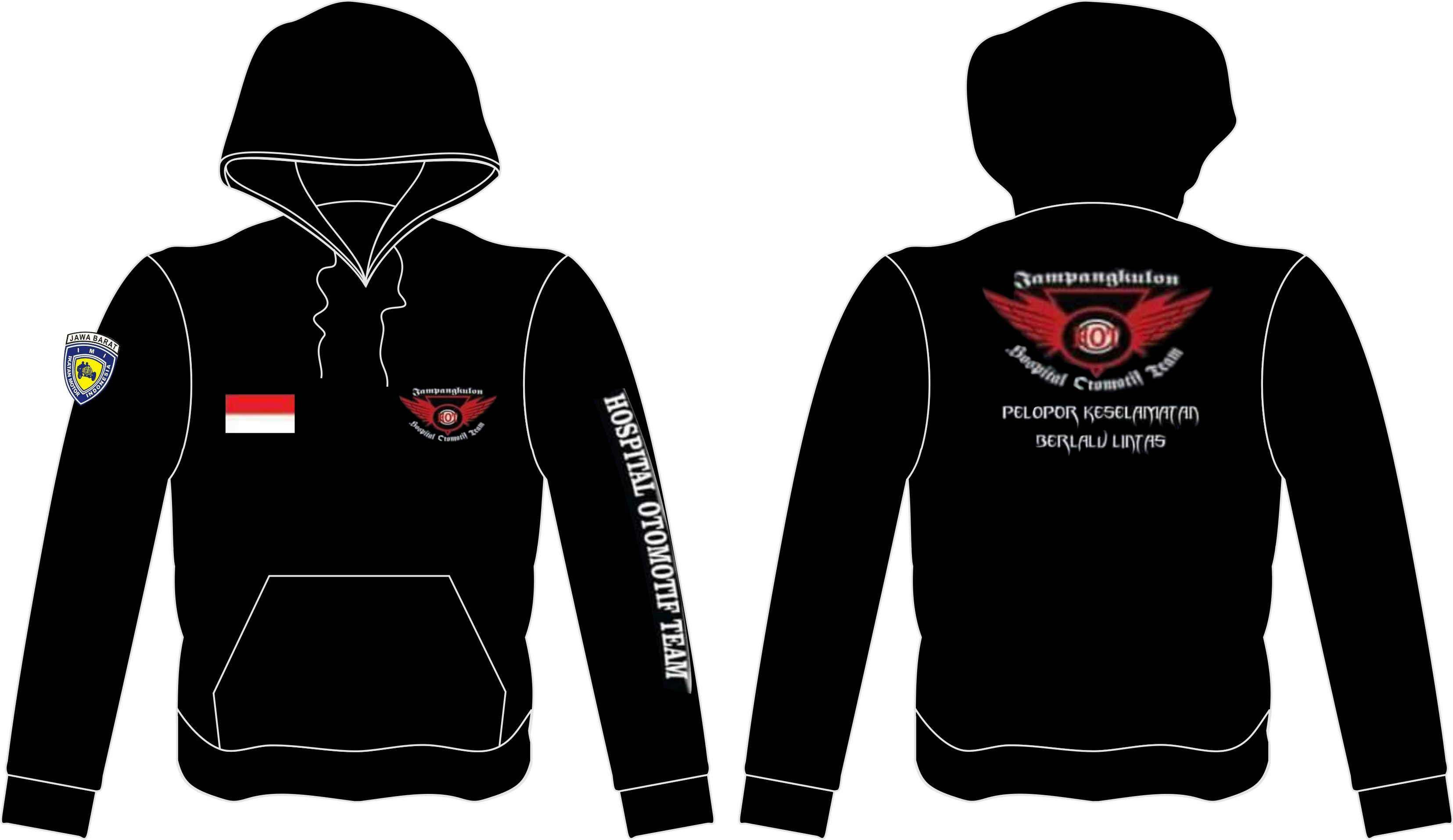 Sweater Hospital Otomotif Team