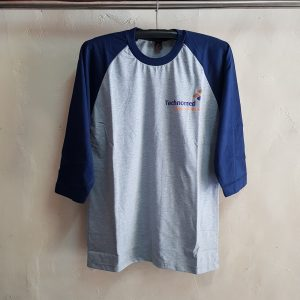 Kaos Raglan Lengan 3/4, T-Shirt Technomed