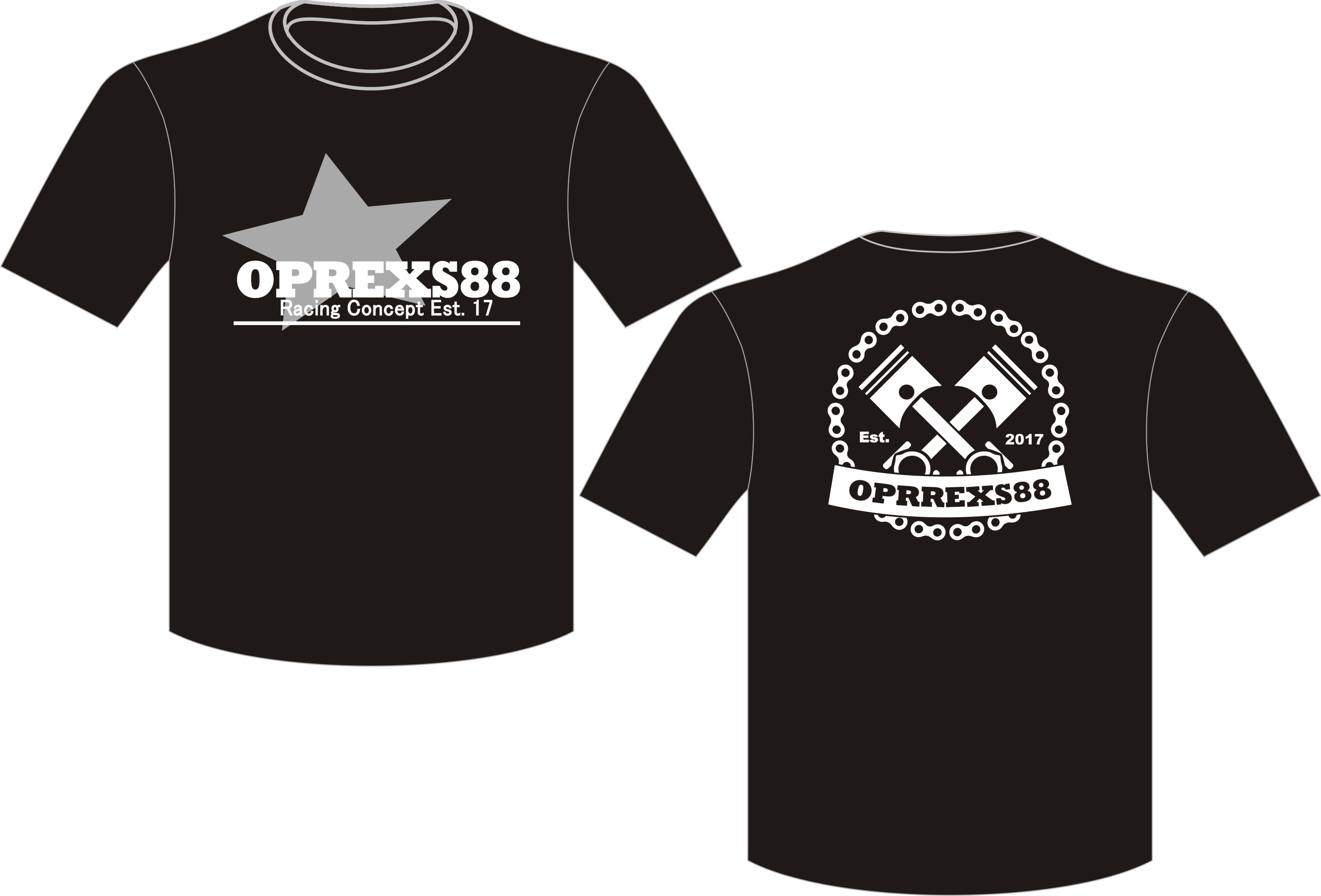 T-Shirt O-Neck Oprexs88 Racing Concept