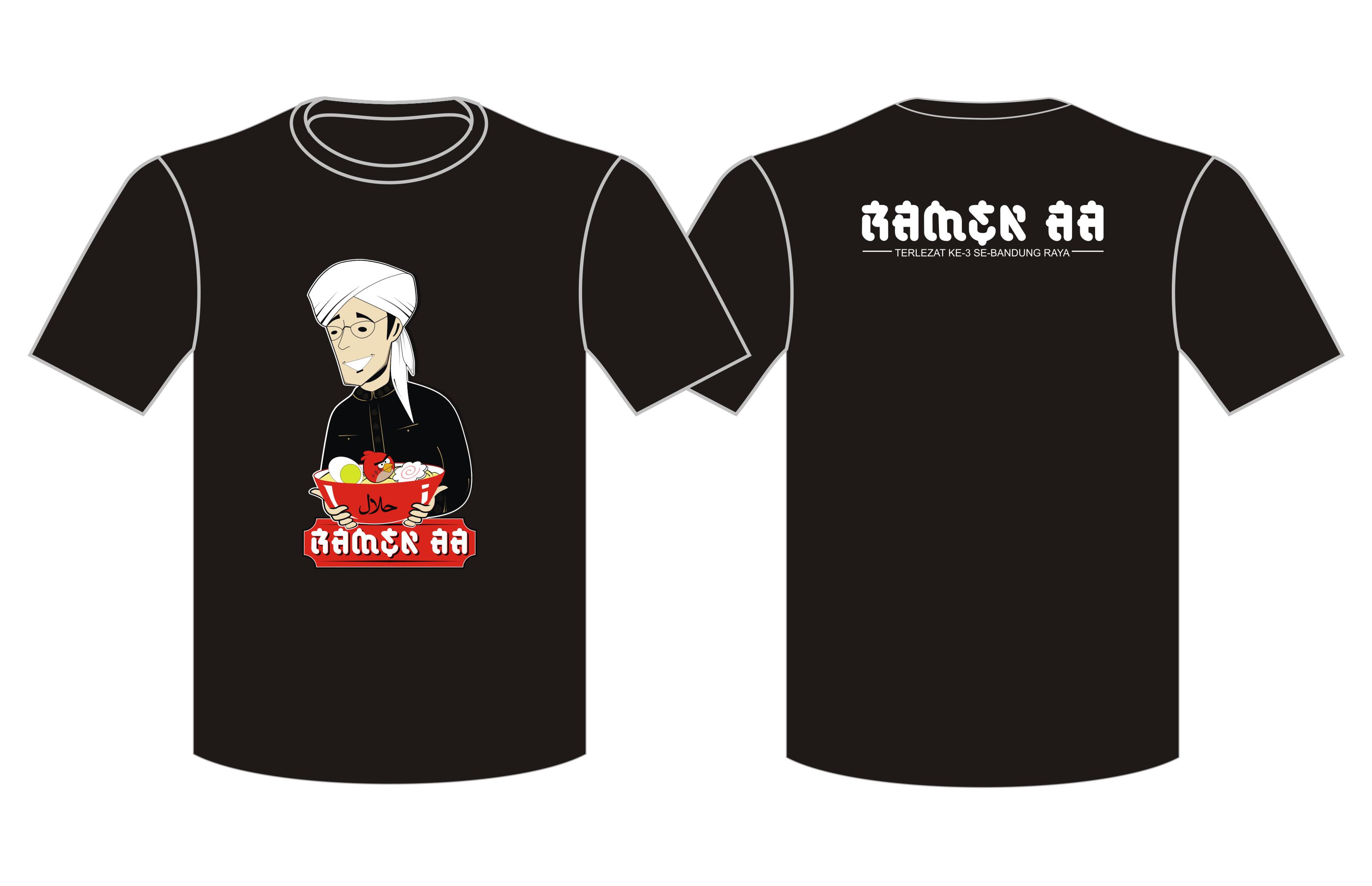 T-Shirt O-Neck Ramen Aa
