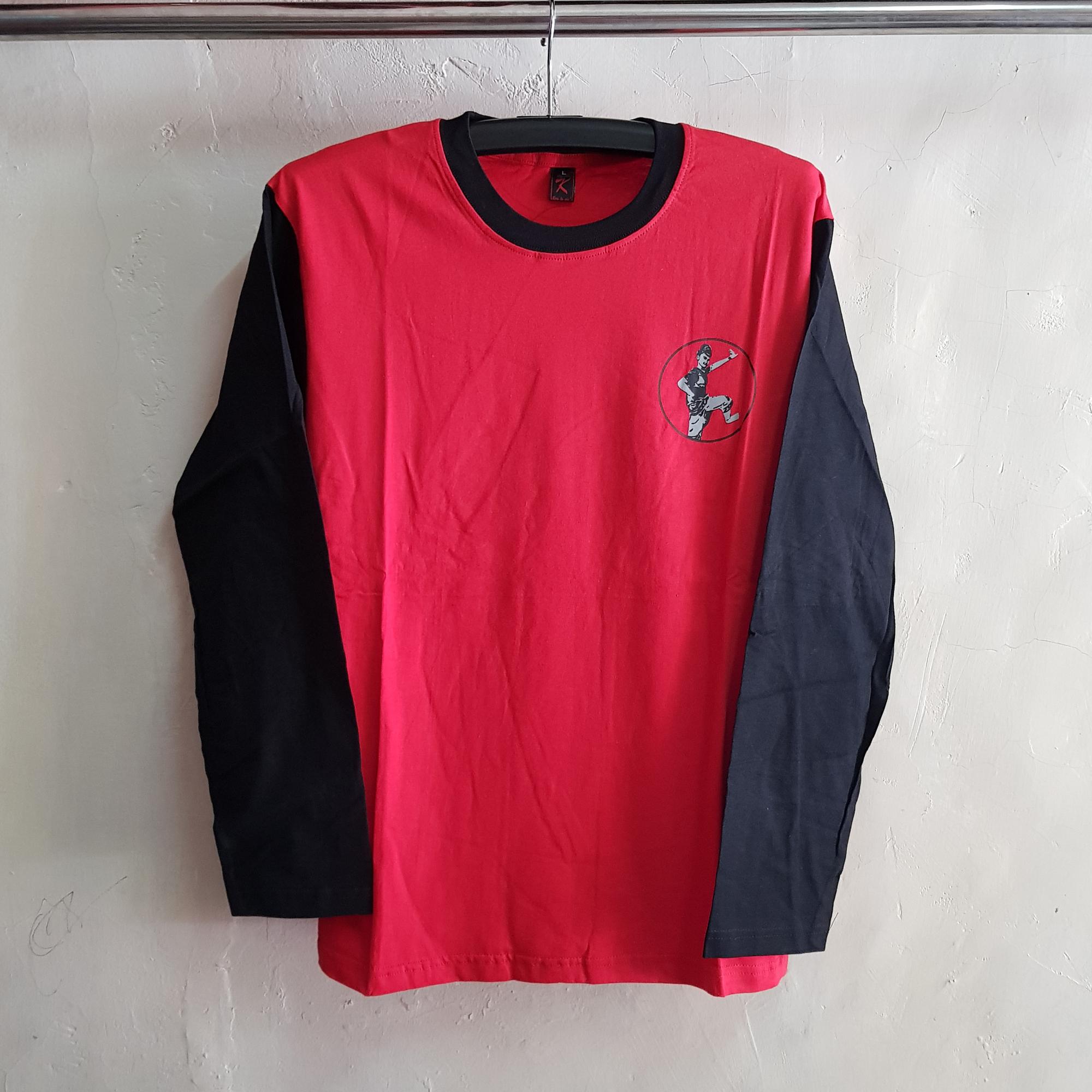 Kaos O-Neck Lengan Panjang, T-Shirt Sanggar
