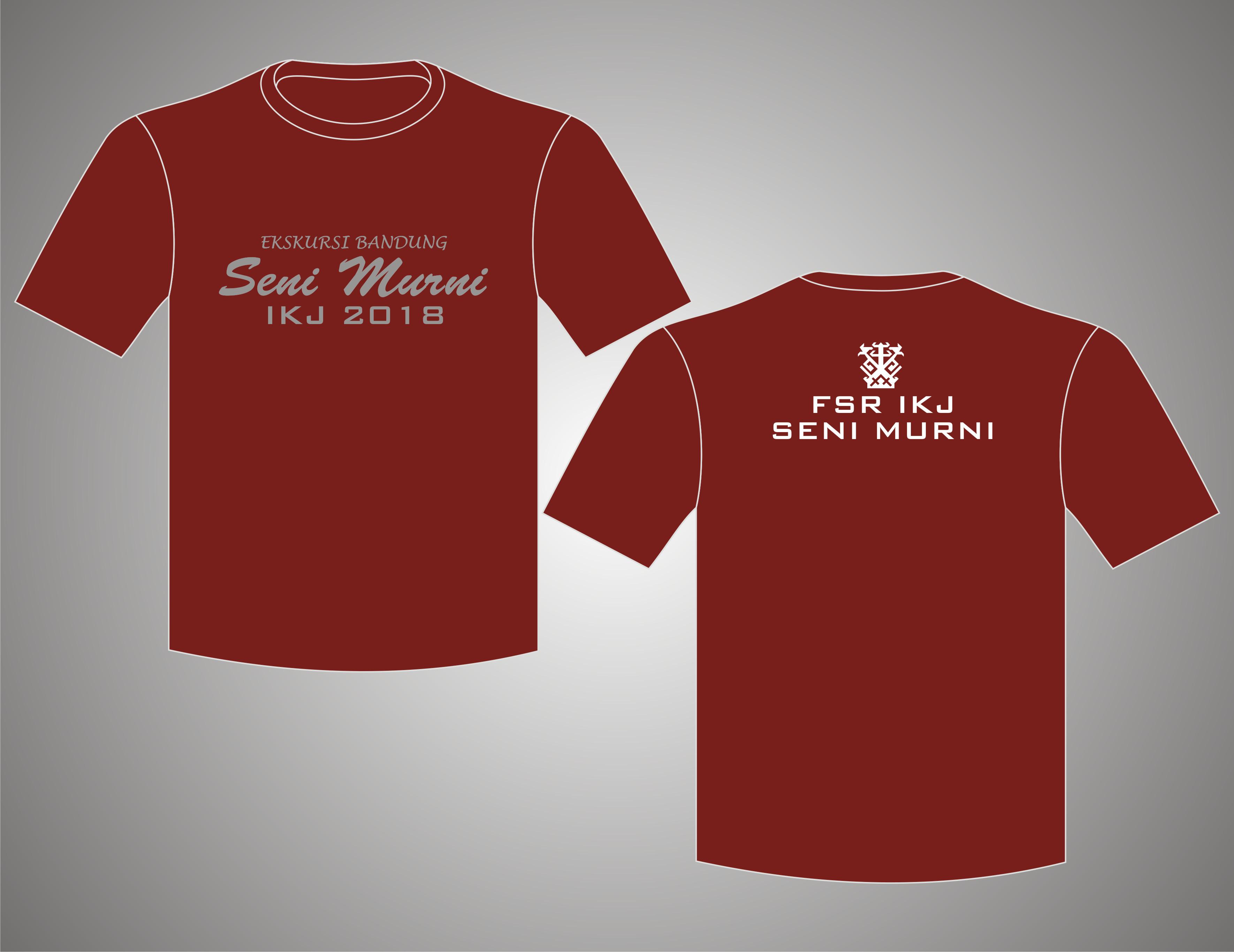 T-Shirt O-Neck Seni Murni IKJ