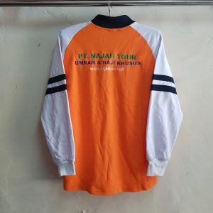 Poloshirt Raglan Aplikasi Lacoste, Najah Tour