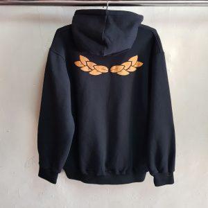 Sweater Fleece Cotton, Night Life Hoodie