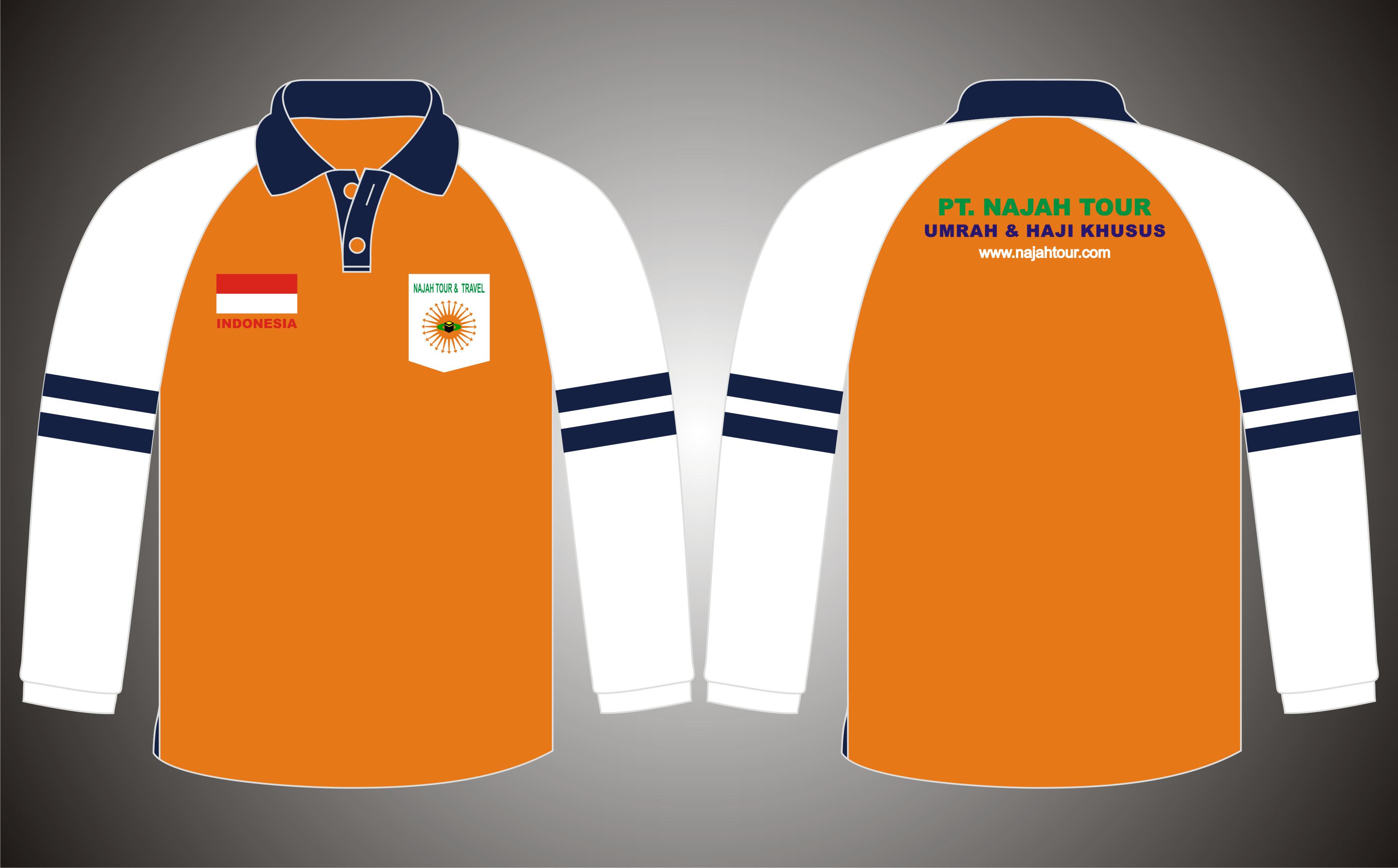Poloshirt Raglan Aplikasi