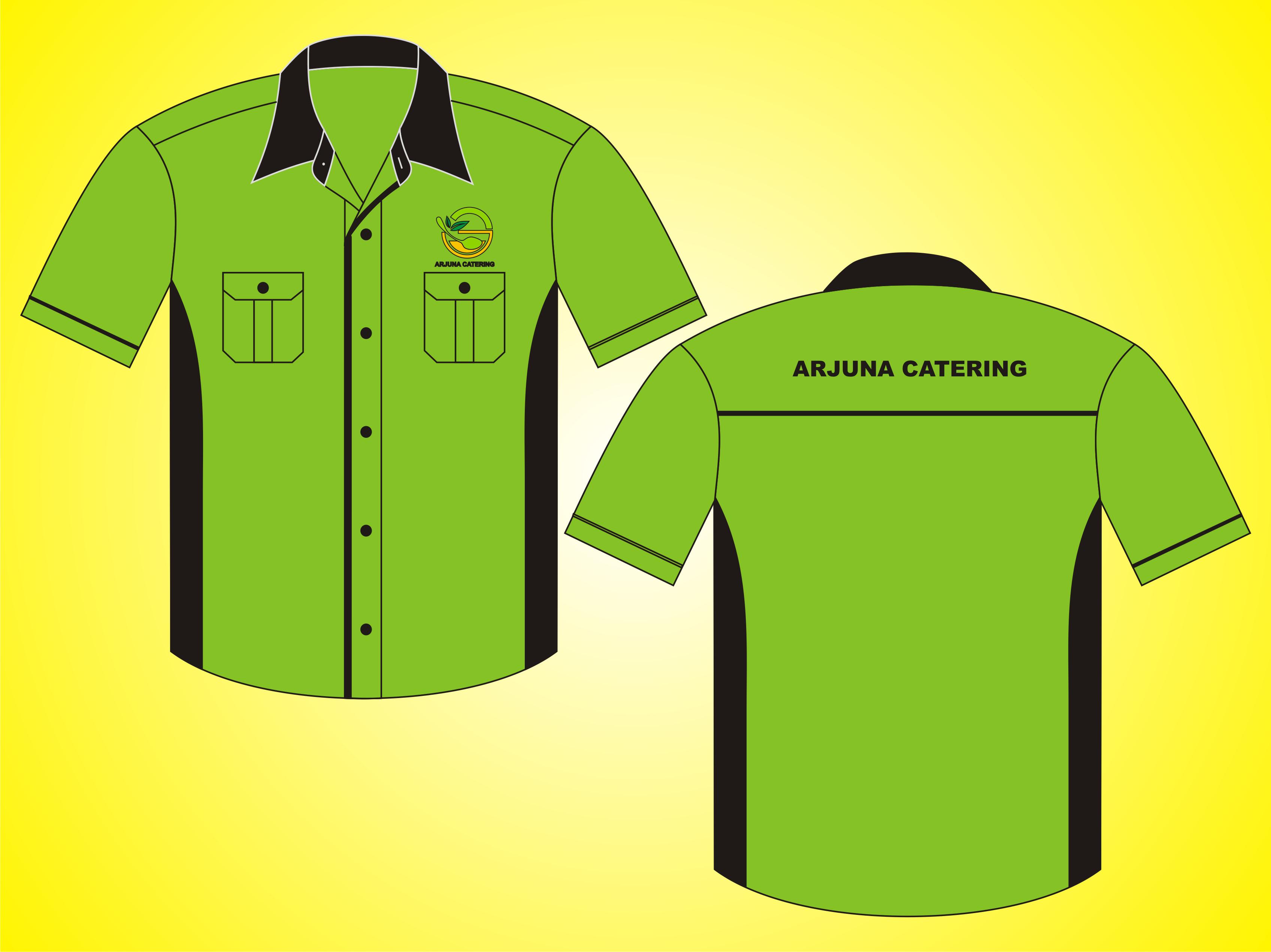 Kemeja Kerja Tropical Arjuna Catering 1
