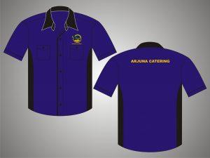 Kemeja Kerja Tropical Arjuna Catering 3