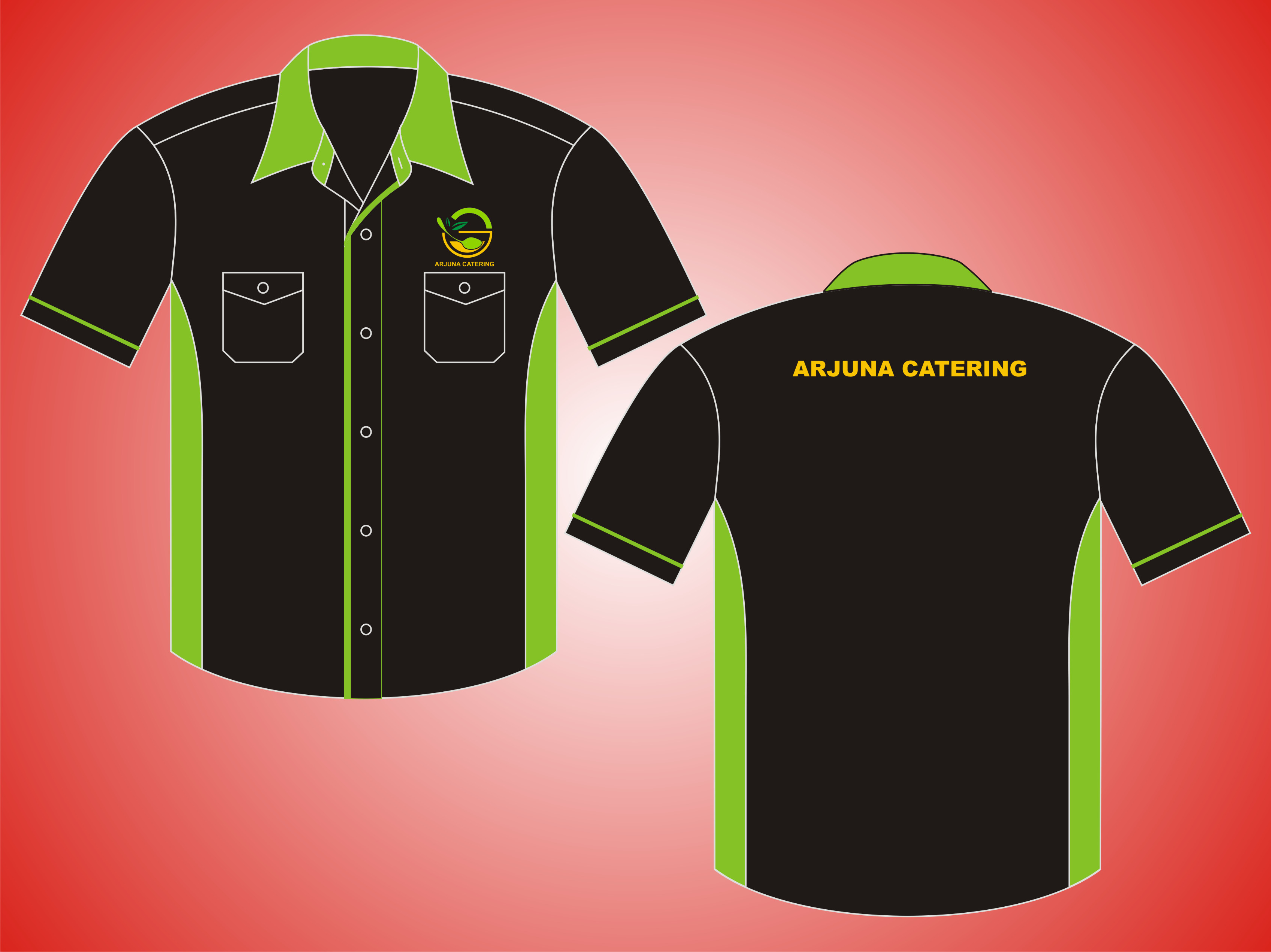 Kemeja Kerja Tropical 4, Arjuna Catering