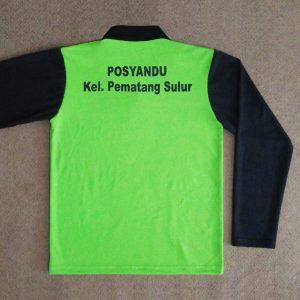 Stelan Poloshirt dan Training Posyandu