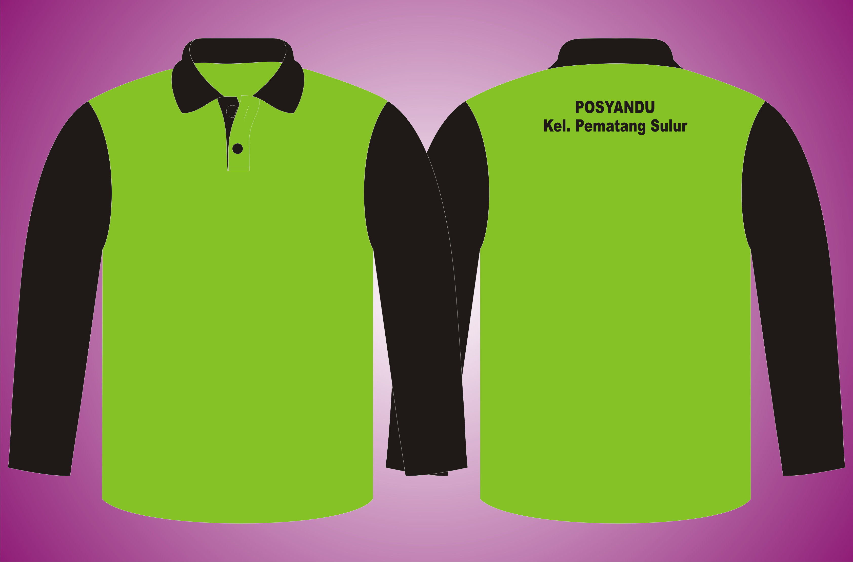 Stelan Poloshirt dan Training