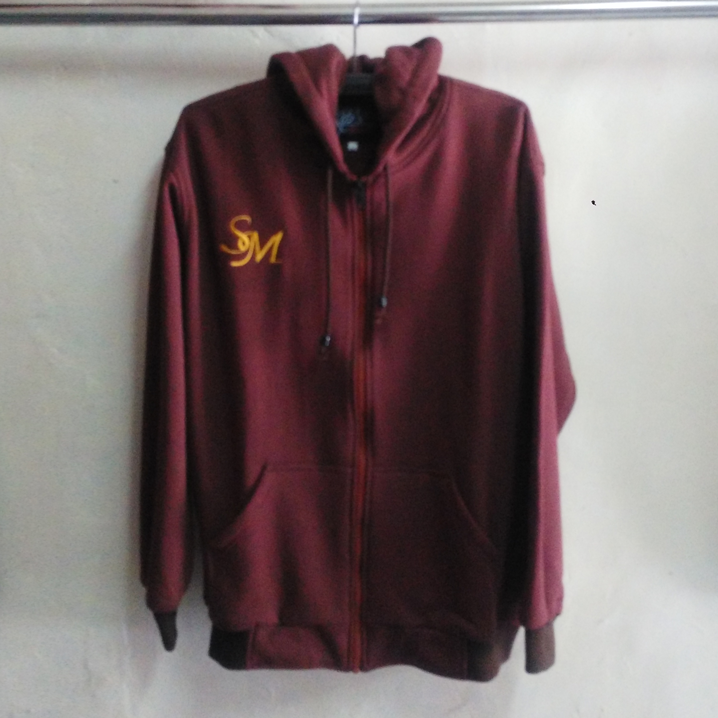 Seragam Jaket Sweater Fleece Cotton SM