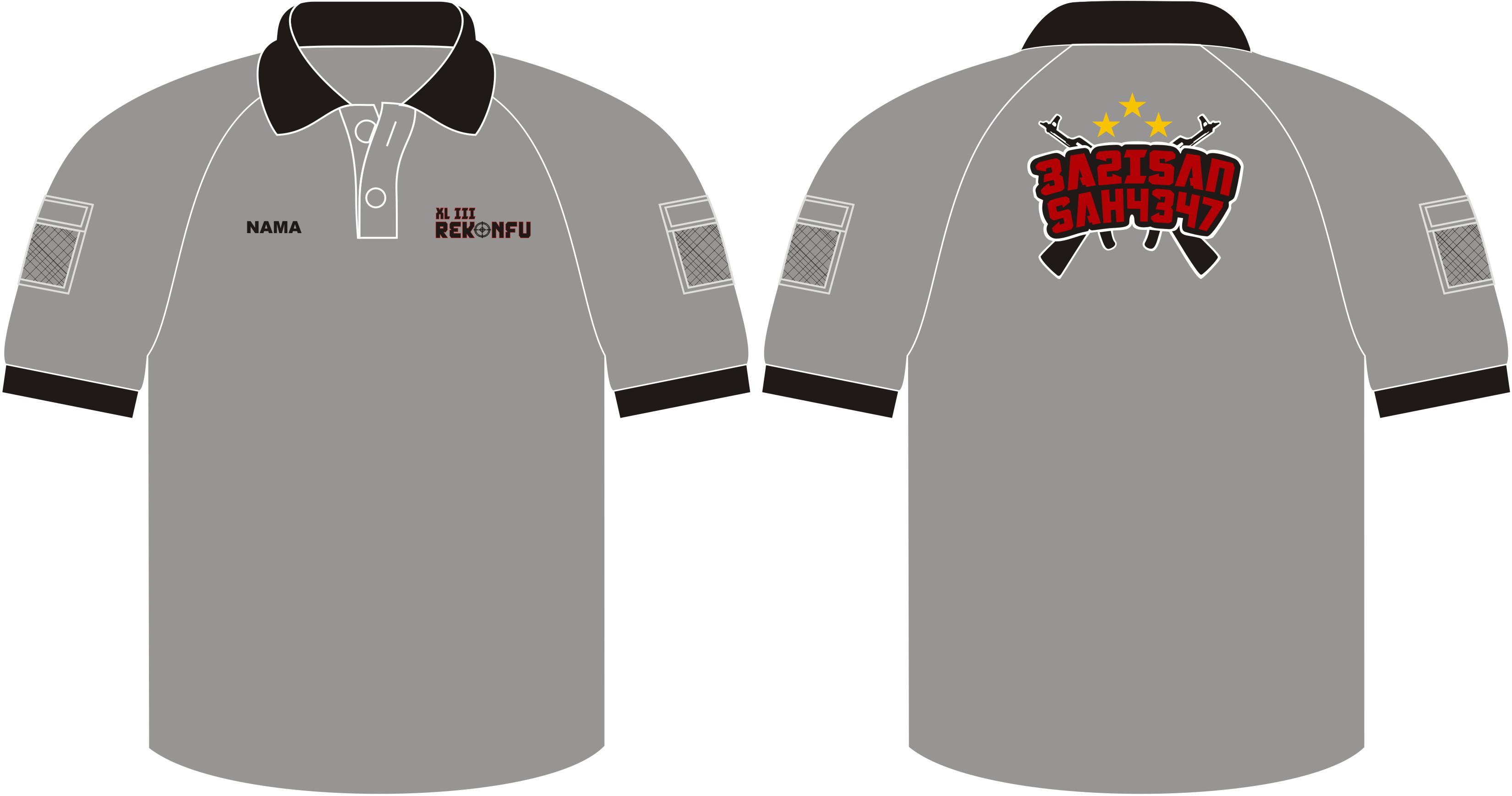 Poloshirt Tactical 3A2, Seragam Kaos Kerah