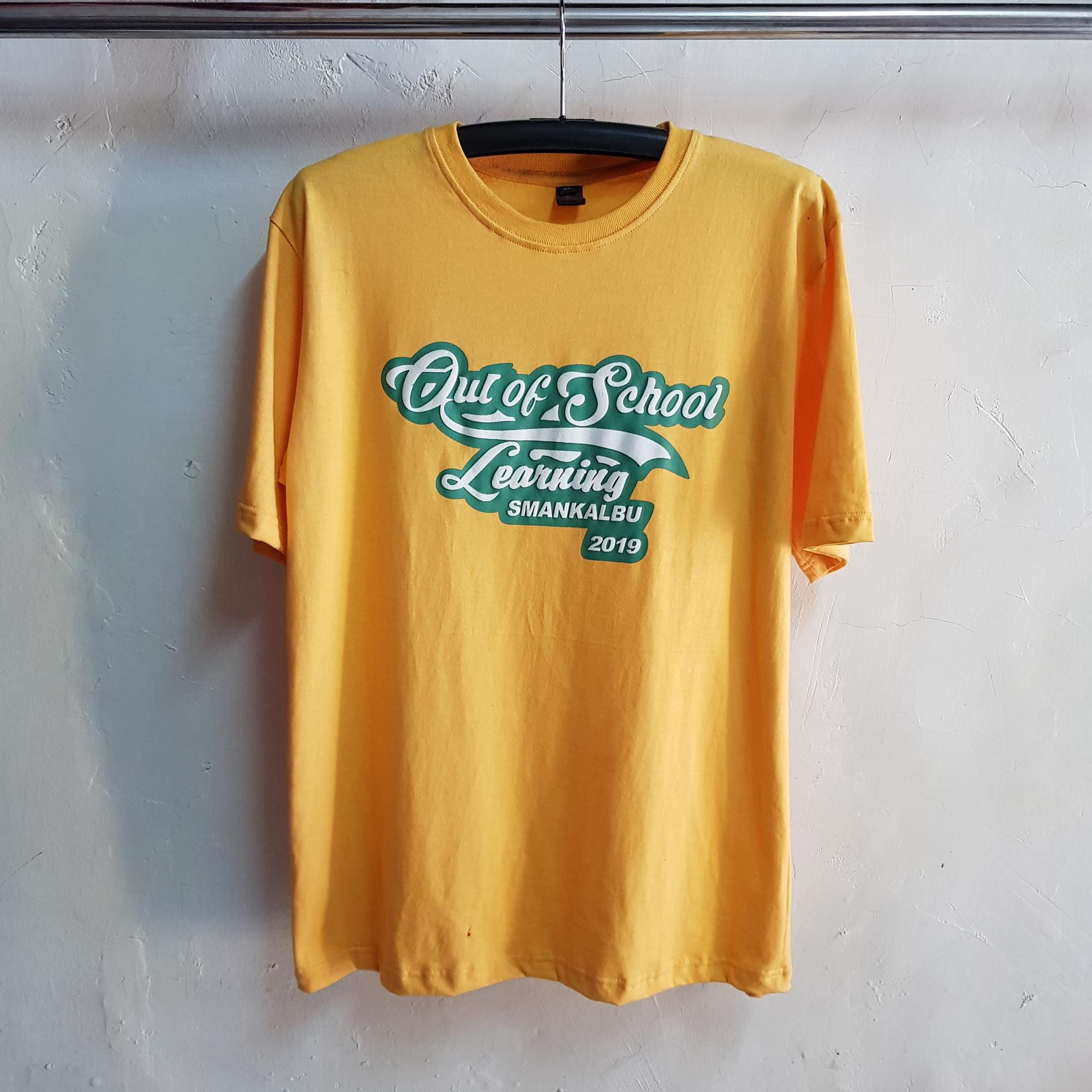 Kaos Kelas SMANKALBU, Seragam T-Shirt