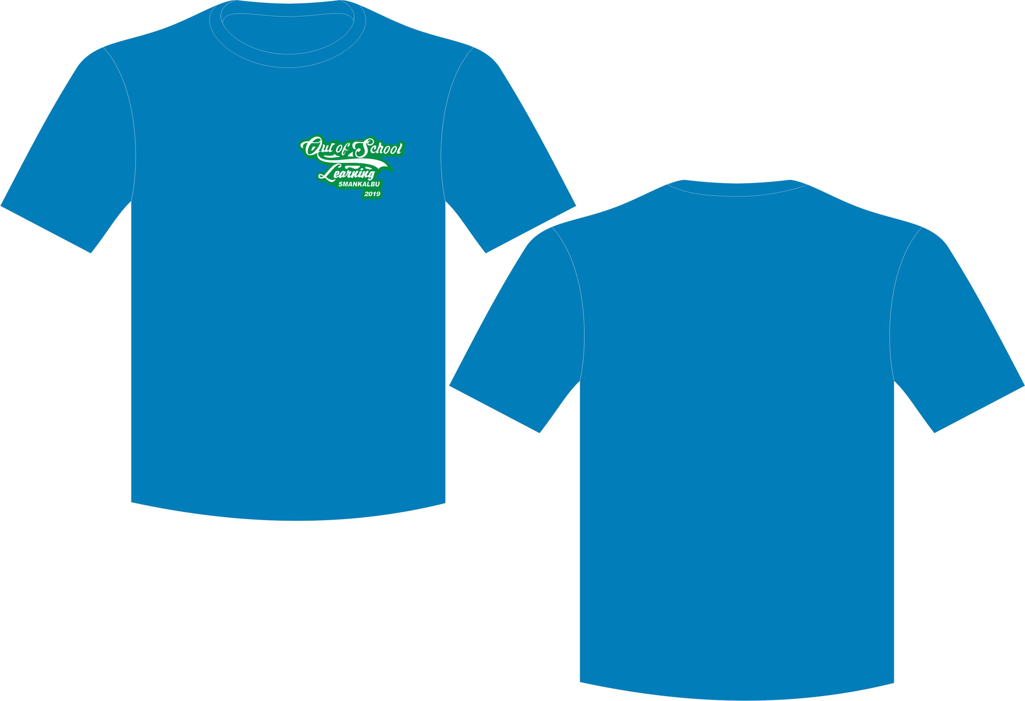 Kaos Kelas SMANKALBU 2, Seragam T-Shirt