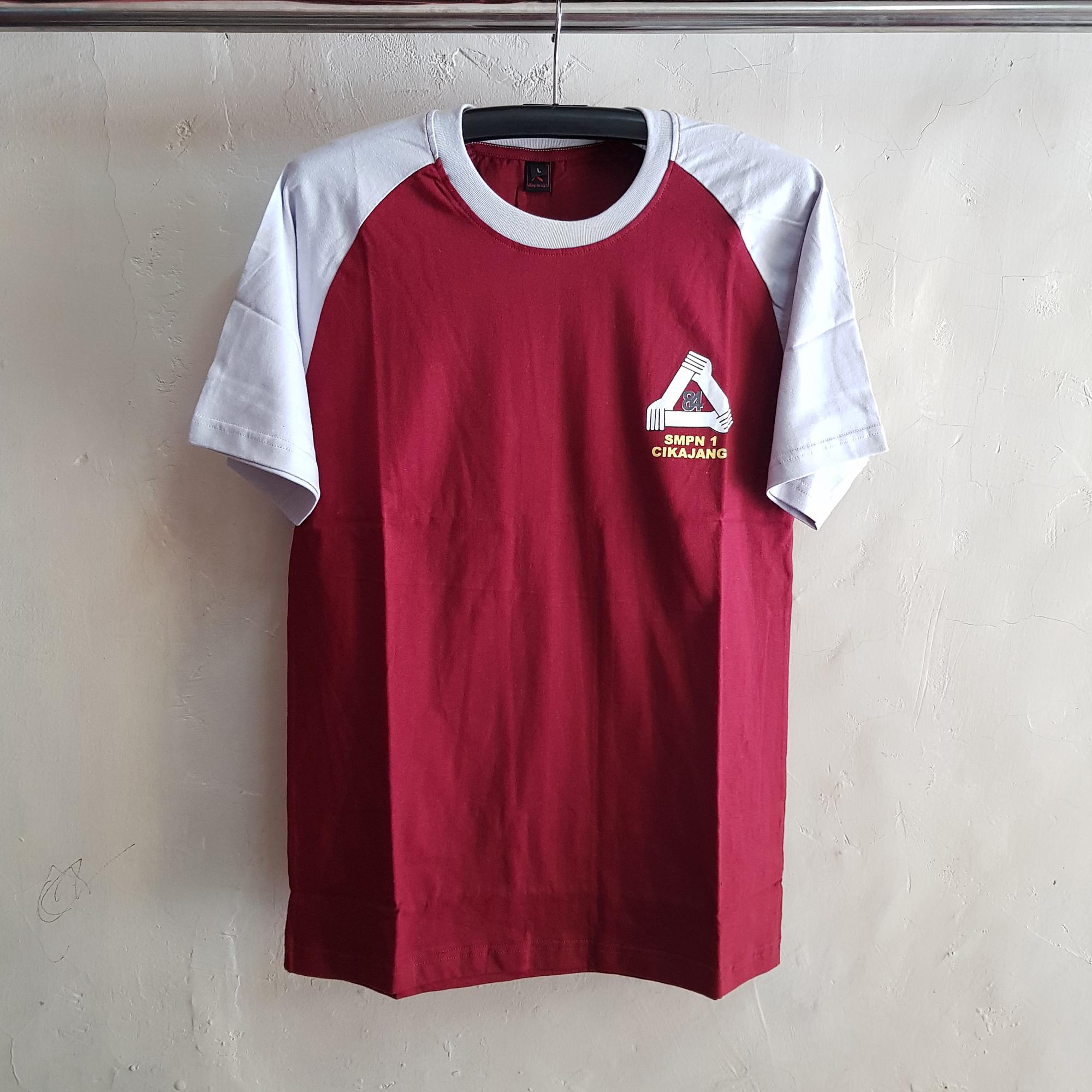 Kaos Oblong Reuni, Seragam T-Shirt SMPN1
