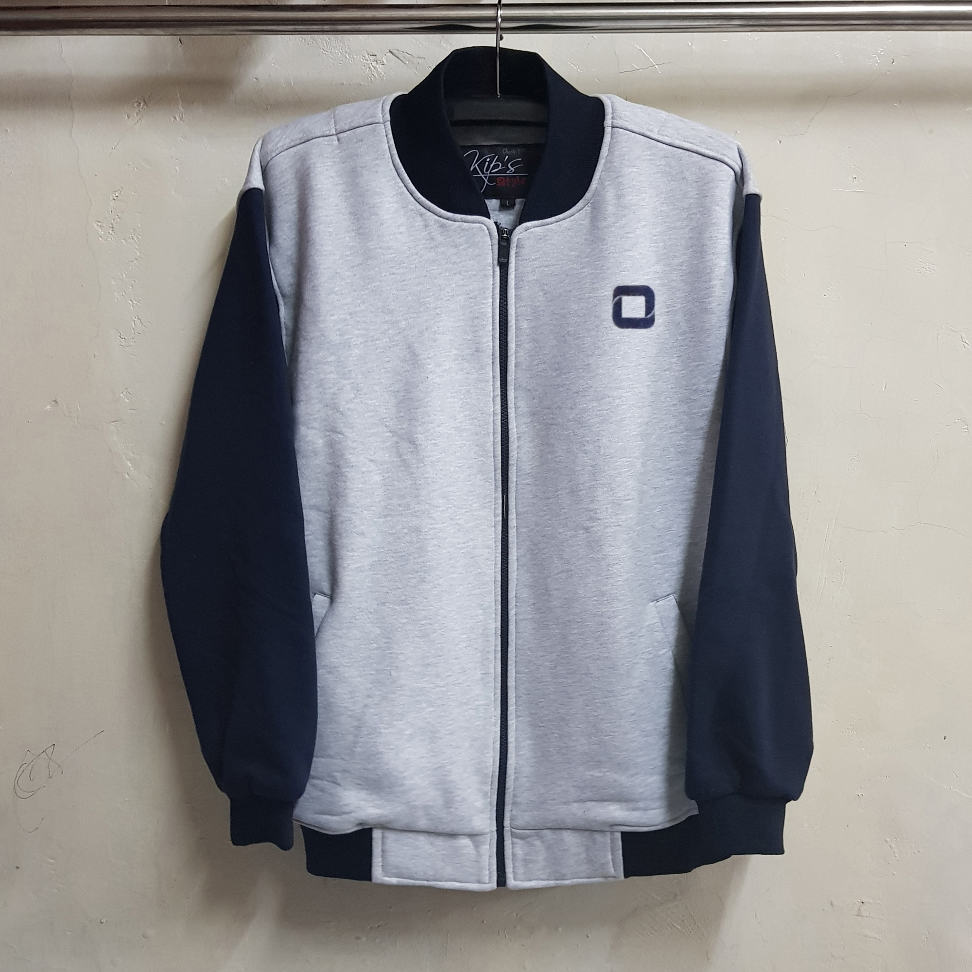 Jaket Varsity Fleece Cotton, Seragam Jaket