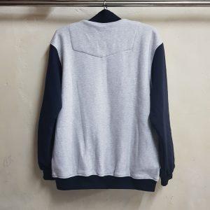 Jaket Varsity Fleece Cotton, Seragam Jaket