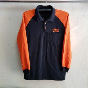 Poloshirt Raglan CNE, Seragam Kaos Kerah