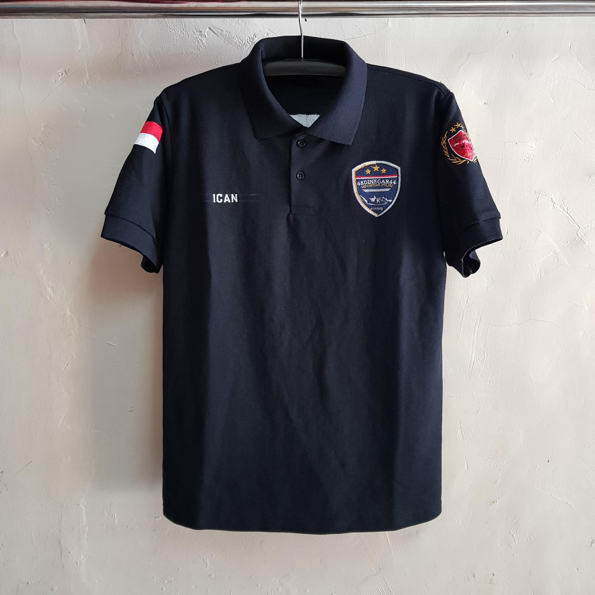 Seragam Poloshirt 2A1, Kaos Kerah Lacoste