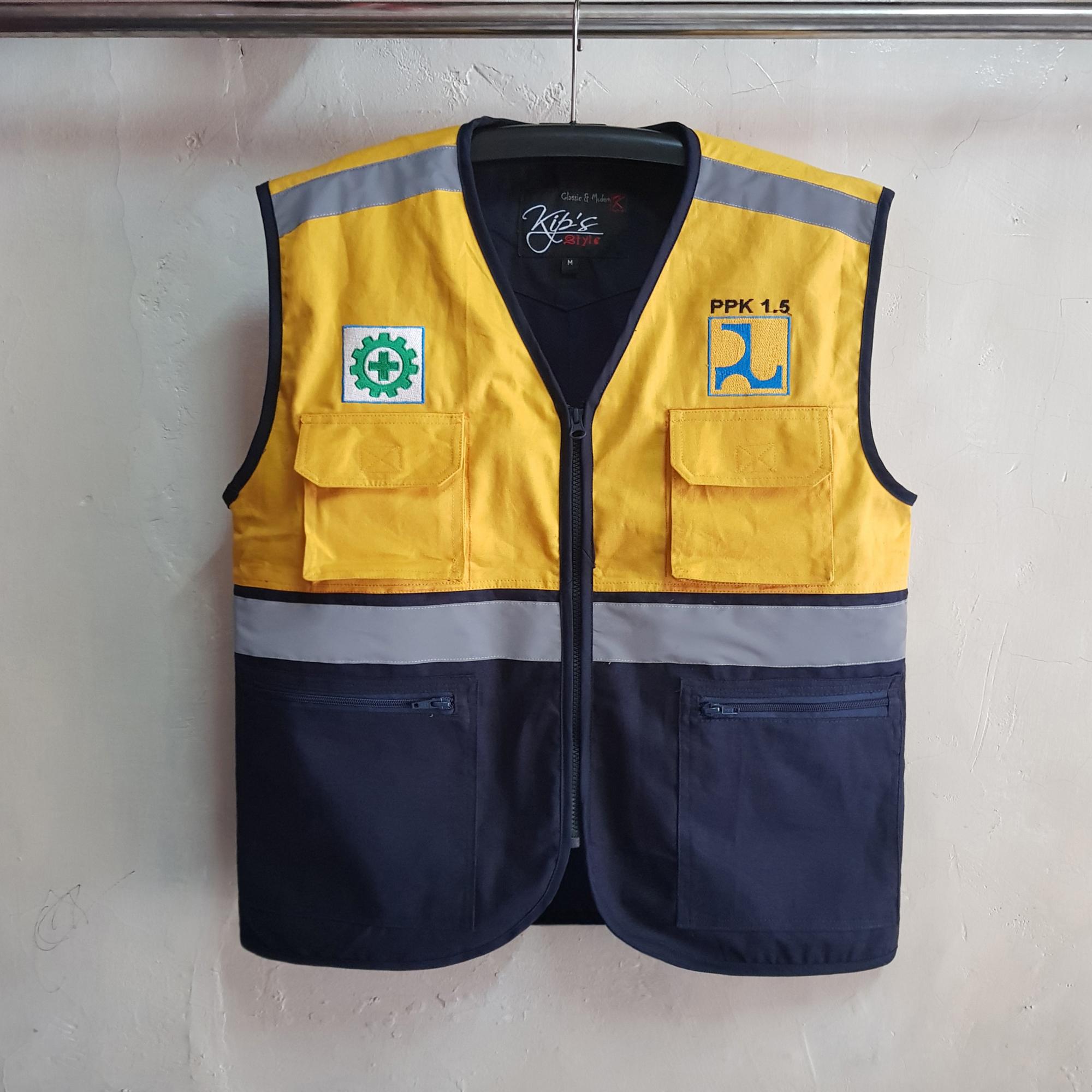 Rompi Satker PUPR Jayapura, Seragam Rompi Cotton