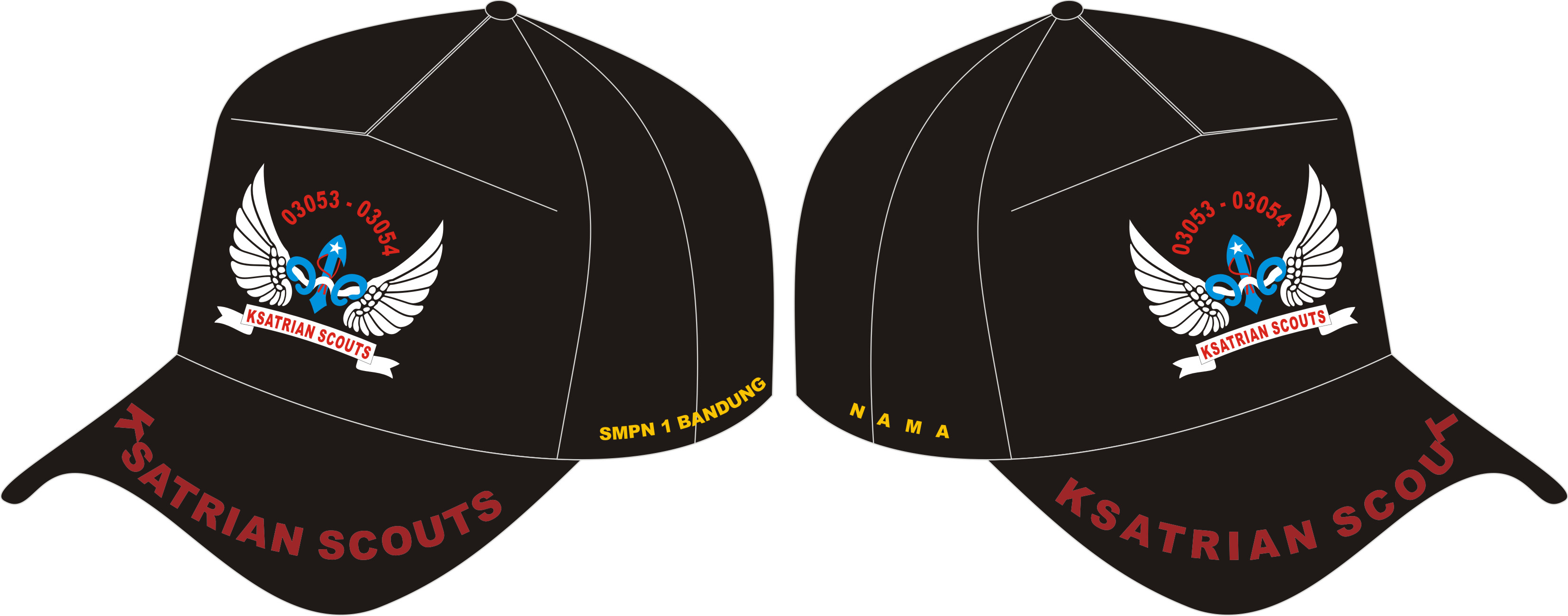 Topi Drill, Seragam Topi Ksatria Scouts