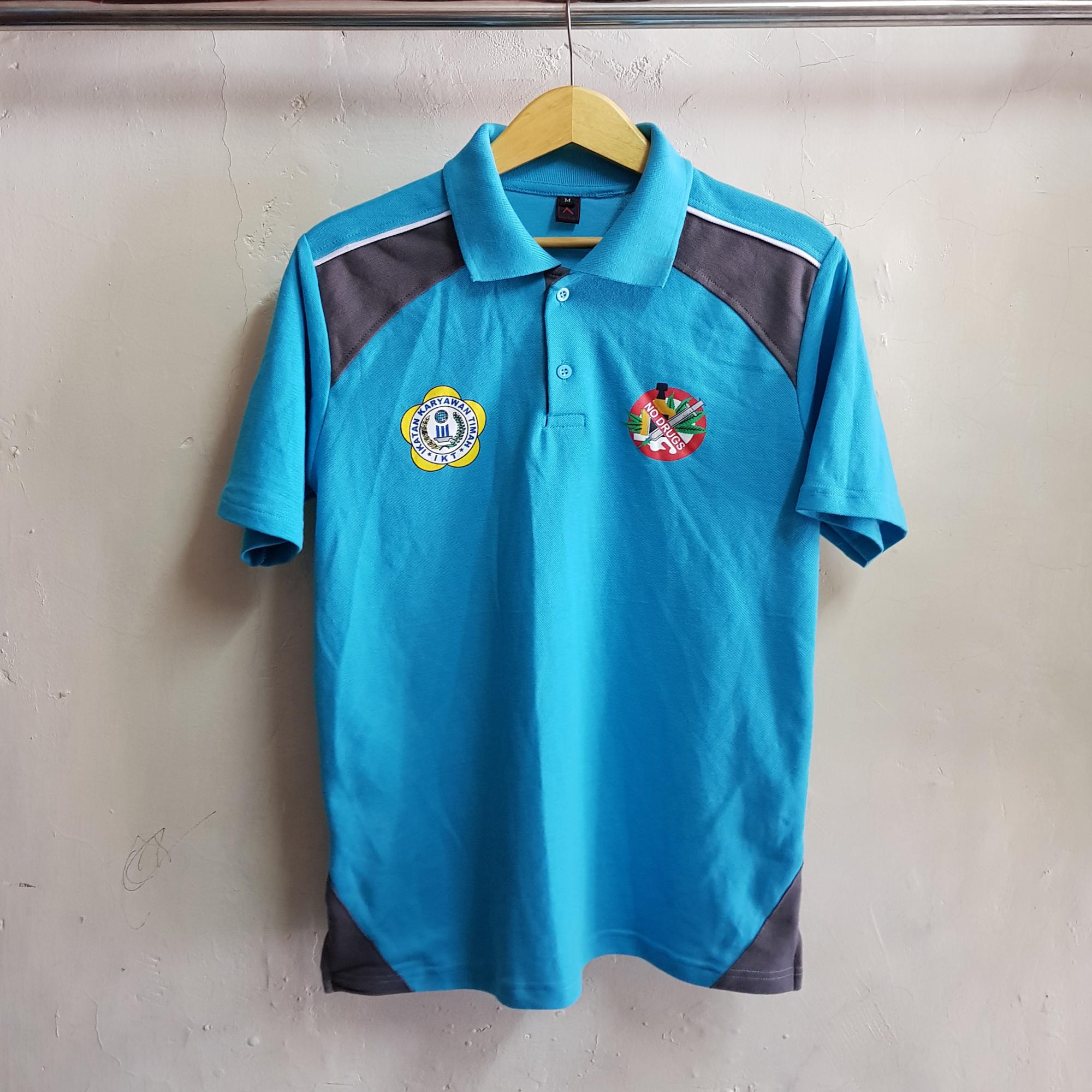 Poloshirt Mind Id, Seragam Kaos Kerah Aplikasi